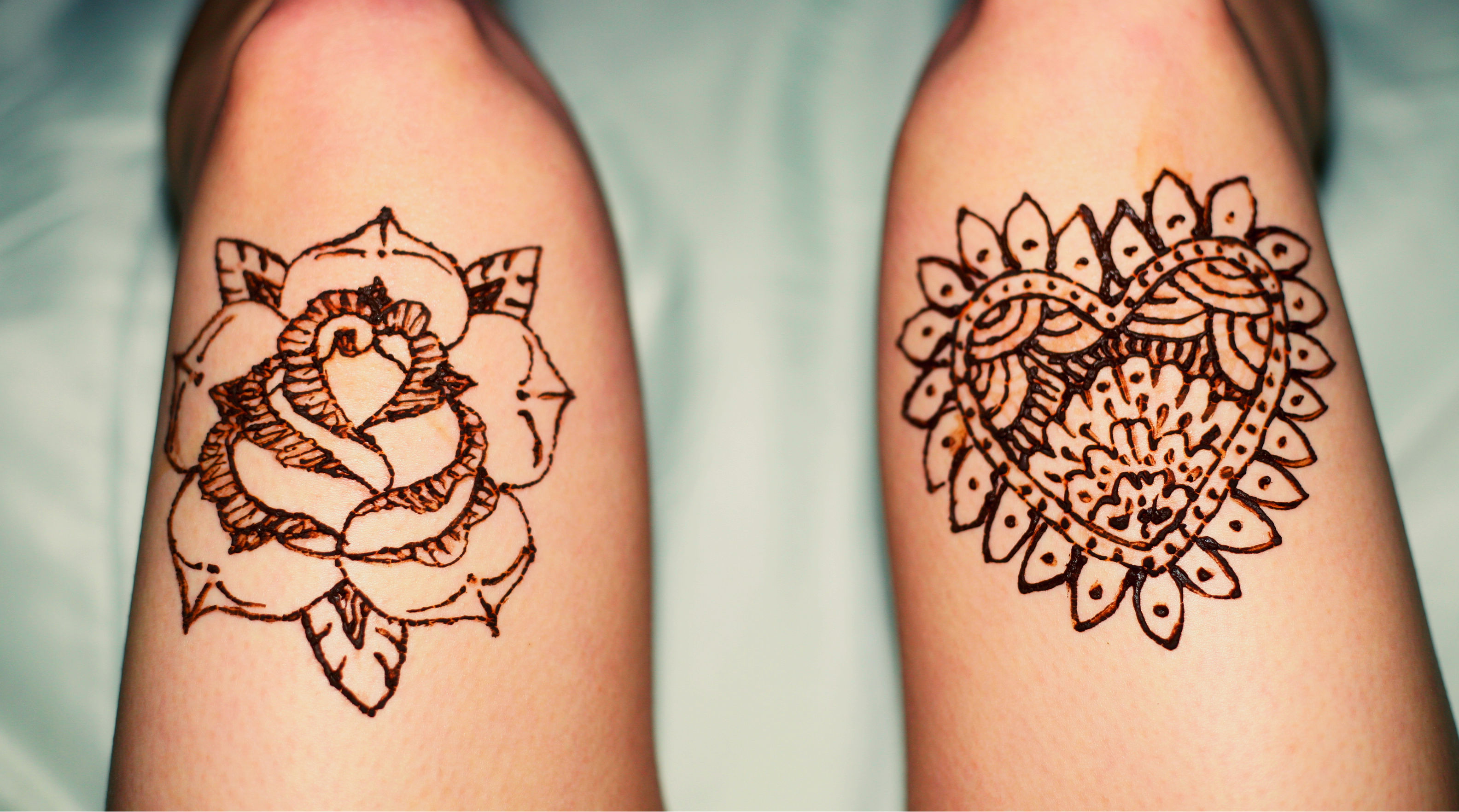 Henna Tattoo Designs For Legs Tattoo Bytes