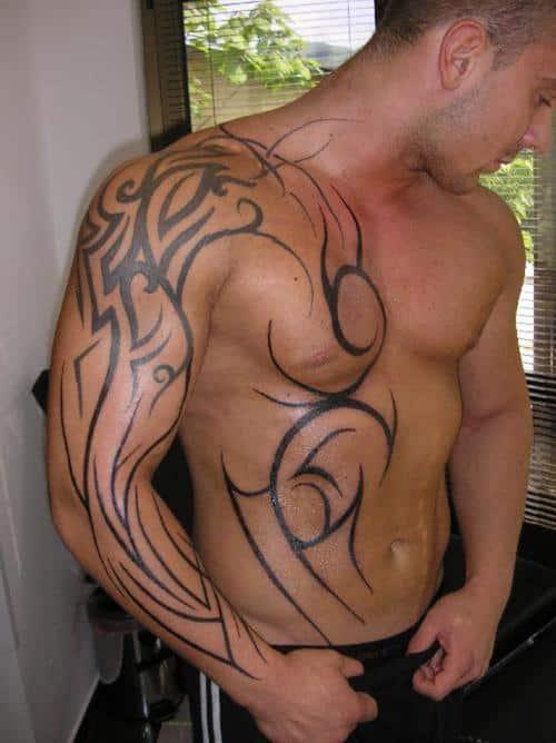 30 Astonishing Yet Simple Tribal Tattoos Designs 2020