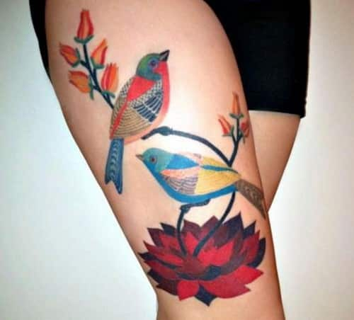 Summer-Thigh-Tattoo