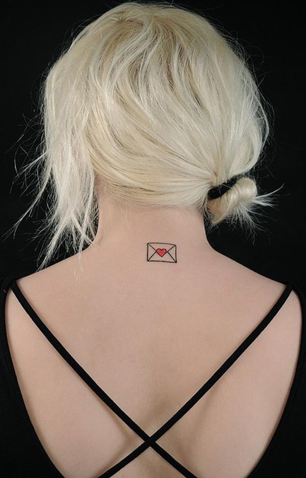 love letter tattoo ideas