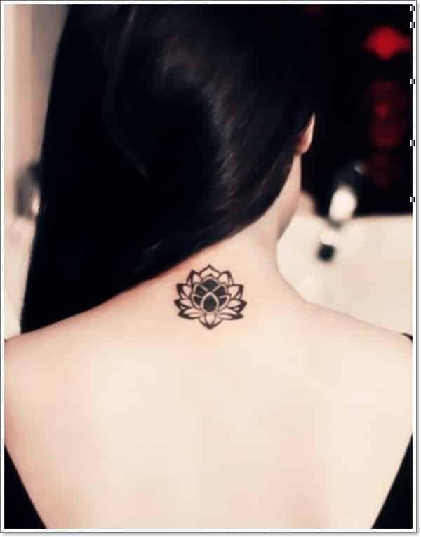 Lotus flower tattoo back tattoo bytes lotus flower tattoo back mightylinksfo