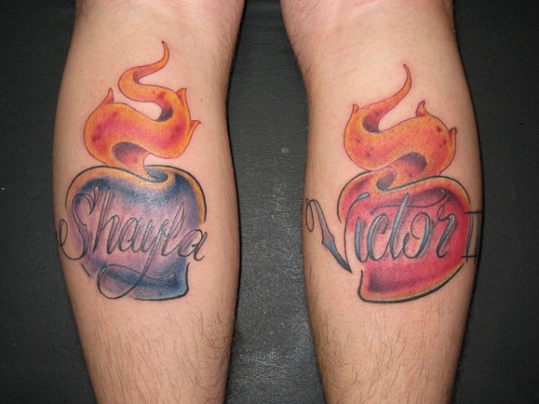 35 Stylishly Cool Name Tattoos Designs And Ideas 2017
