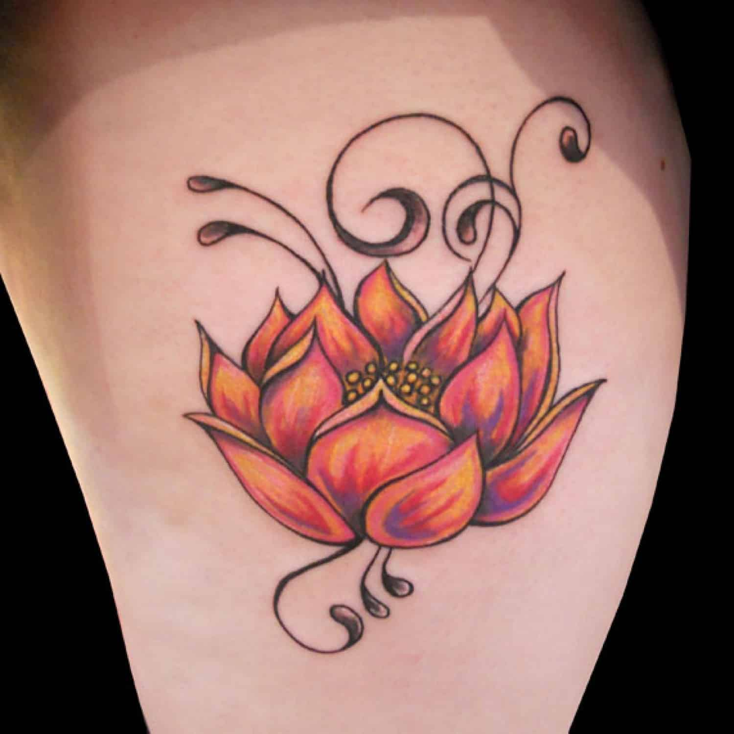 35 Unique Lotus Flower Tattoo Designs And Meaning 2018 Collection