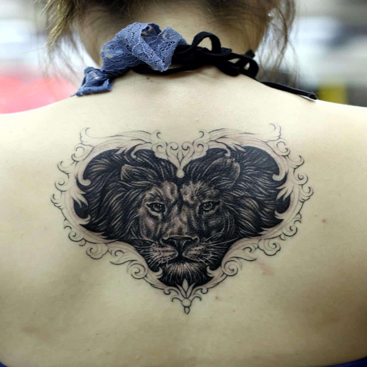 c290b99eeb0a8 black leo tattoos - Tattoo Bytes