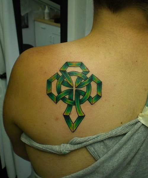 40 celtic cross tattoos designs and meaning 2017