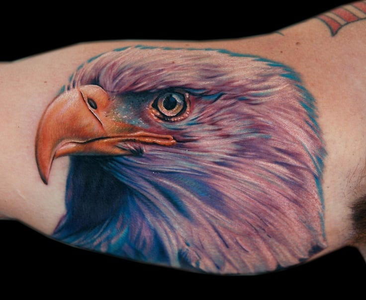 Cecil-Porter-Realistic-Eagle-Tattoo