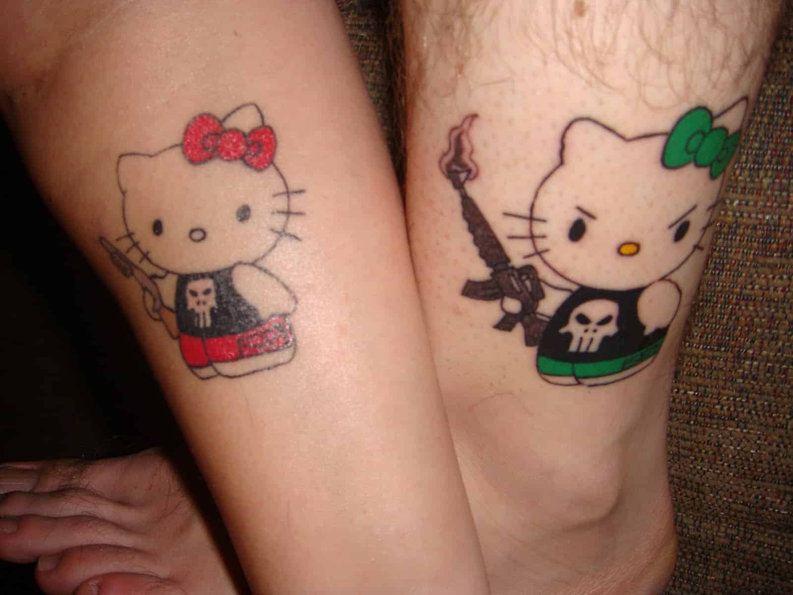 Cute-Matching-Tattoo-For-Couples