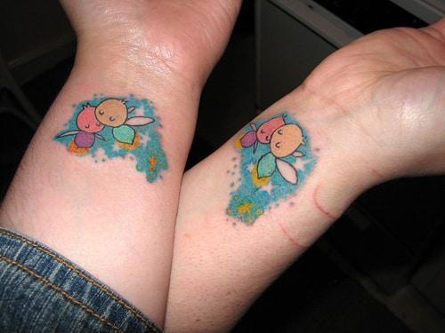 Matching-Tattoo-Ideas-on-Wrist