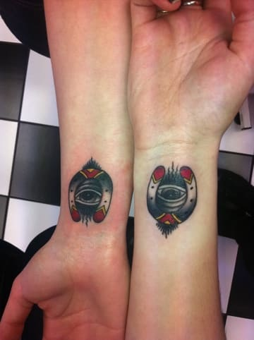 cool matching tattoo for women