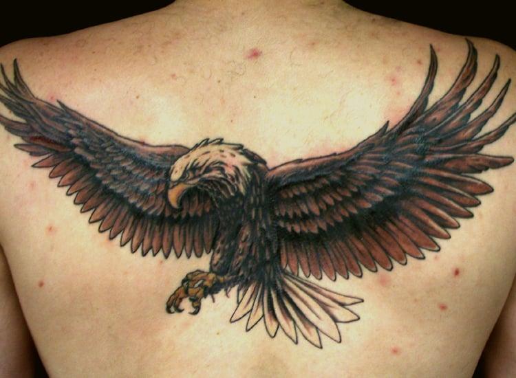 flying-eagle-tattoo-on-back-body