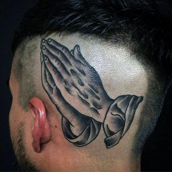 pray-hand-tattoos-for-males-on-back-of-head