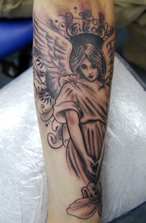 Girls-Memorial-Tattoo-for-Arm-2016