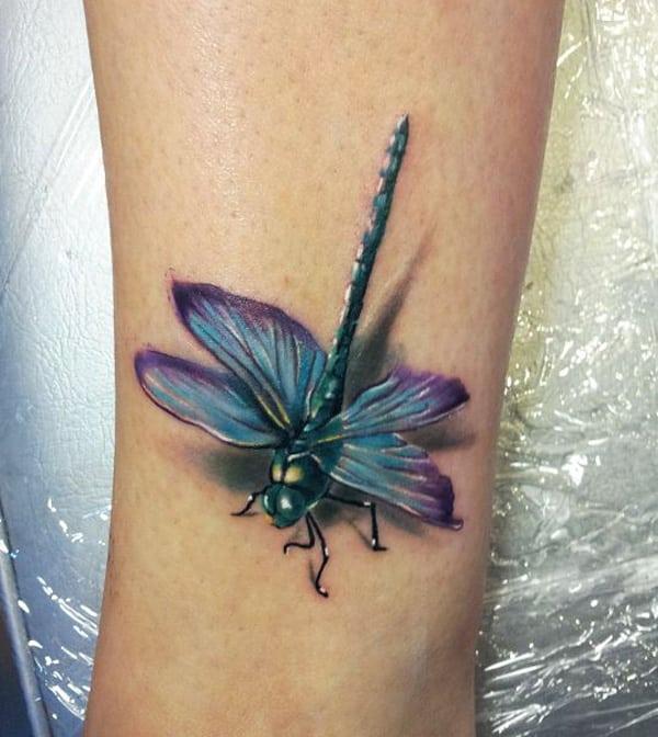 Cool Dragonfly Tattoo 2016 Tattoo Bytes