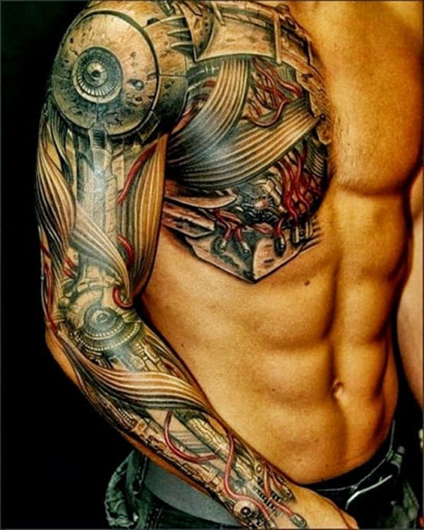 full arm tattoo ideas for men