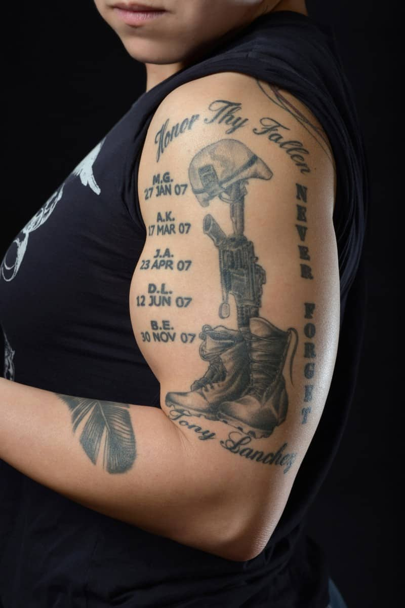 never_forget_memorial_tattoo_on_arm