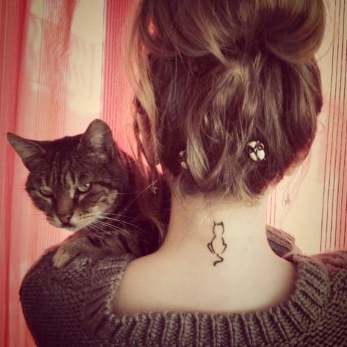 pretty neck tattoos 2016