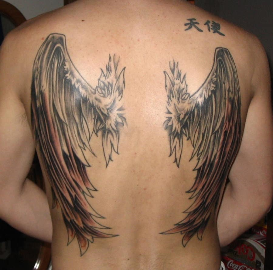 Angel-Wings-Back-Tattoo