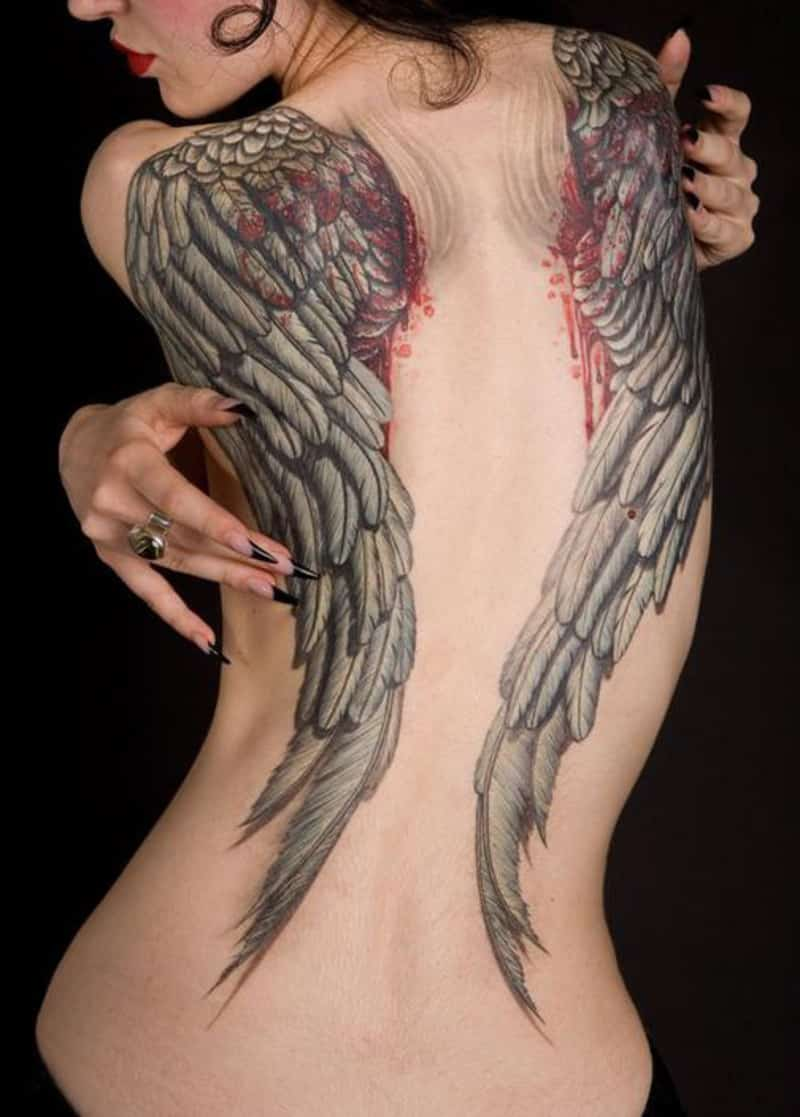Angel-Wings-Tattoos-On-Back