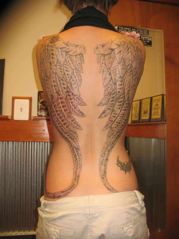 Women-angel-spider-wings-tattoos-Images