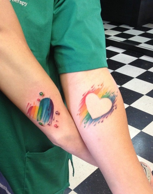 Cute Matching Couple Tattoo Ideas