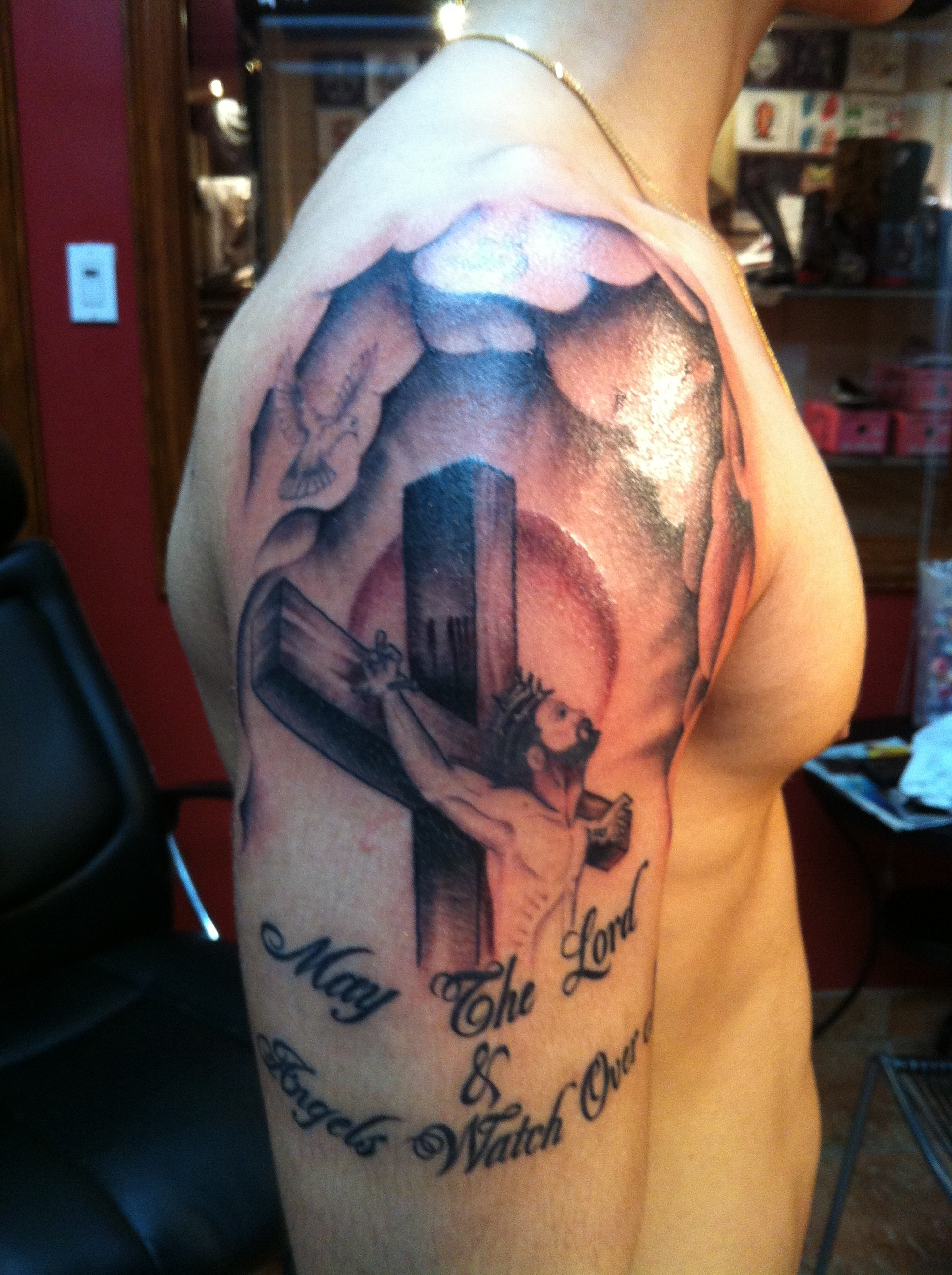 f2eba3fbc Religious-Tattoo-Designs-For-Men - Tattoo Bytes