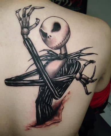 a nightmare before christmas tattoo