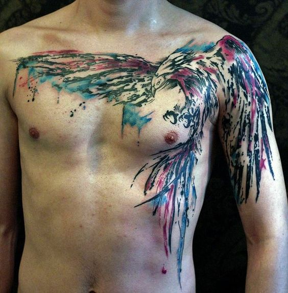 badass eagle tattoos