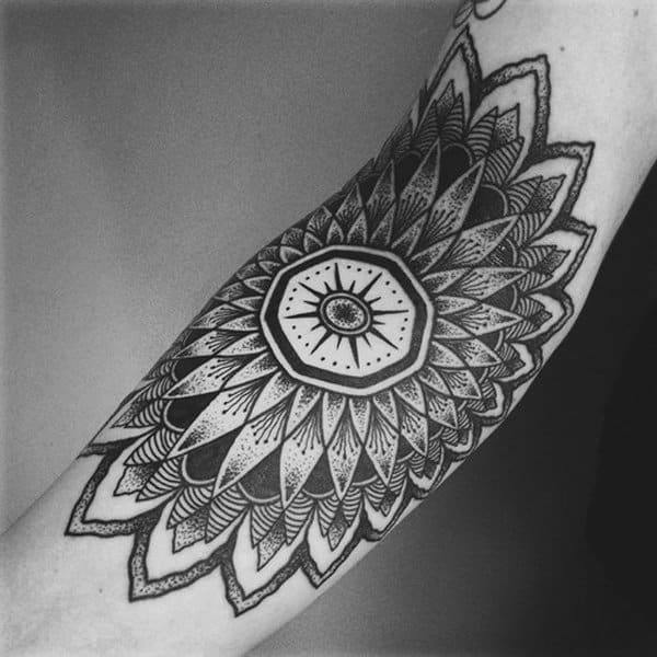 mandala sleeve tattoo designs
