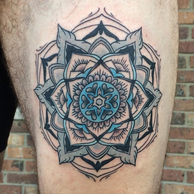 mandala tattoo designs lotus flower