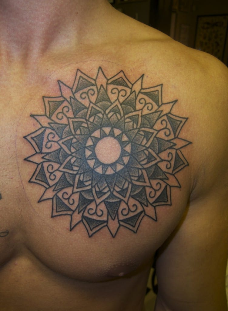 mandala-tattoo-on-chest-for-men