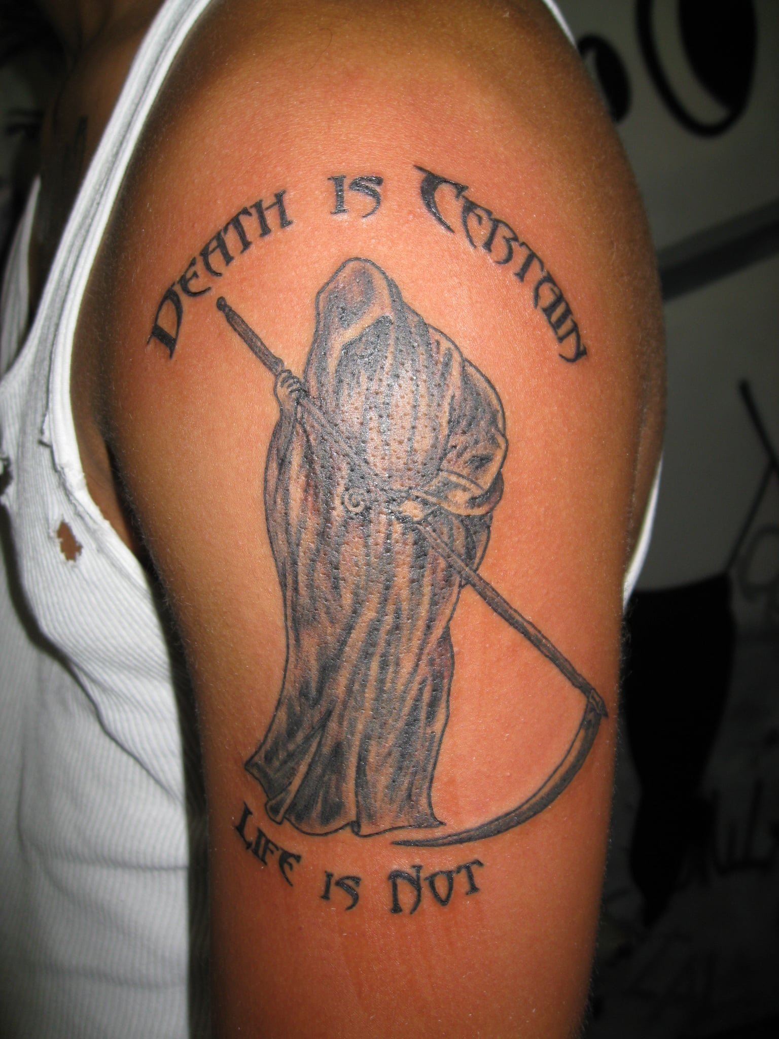 105 Cool Grim Reaper Tattoos Designs, Ideas and Meanings
