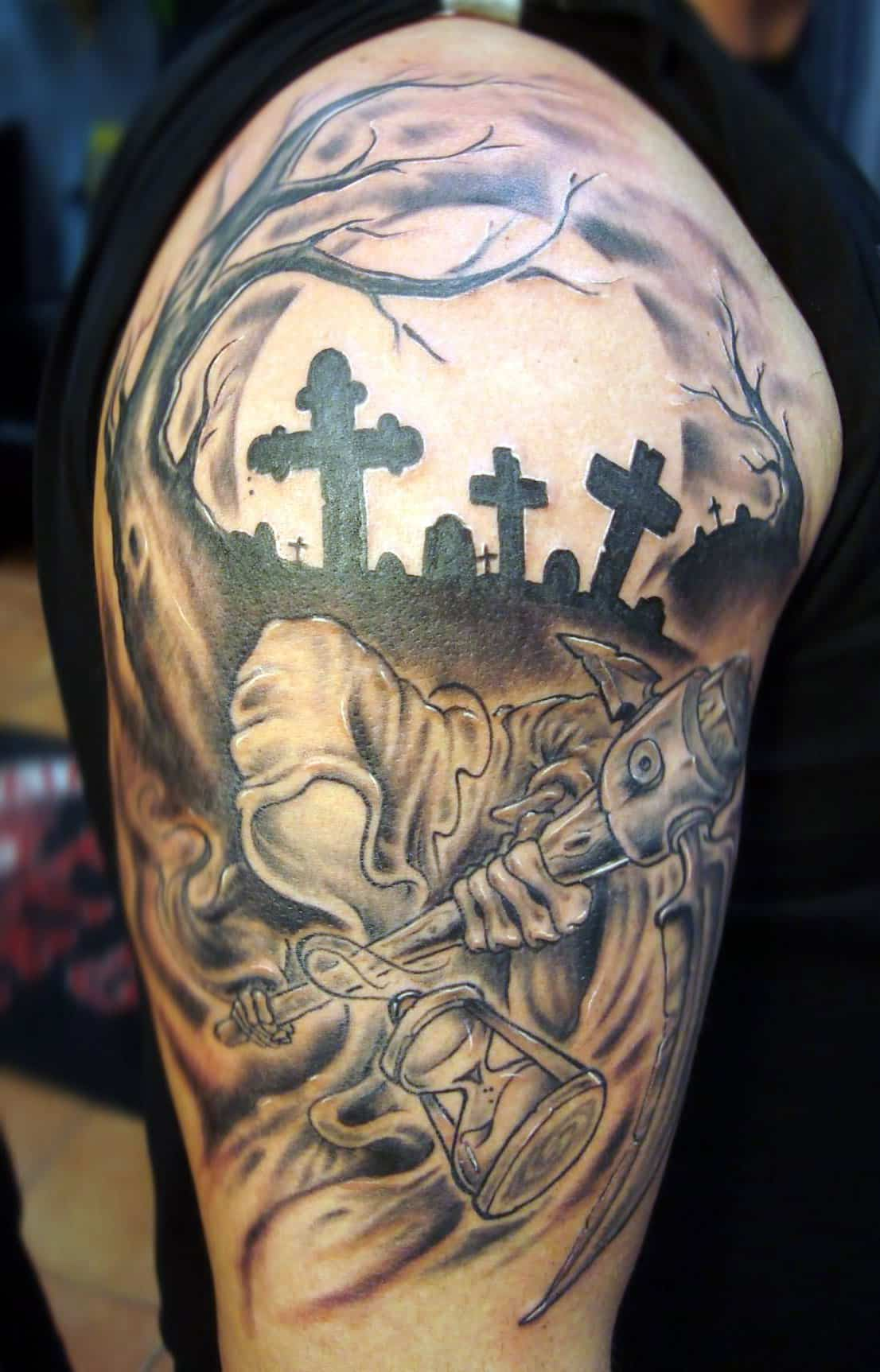 105 cool grim reaper tattoos designs ideas and meanings