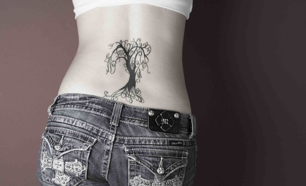 Willow Tree Watercolor Weeping Tattoo