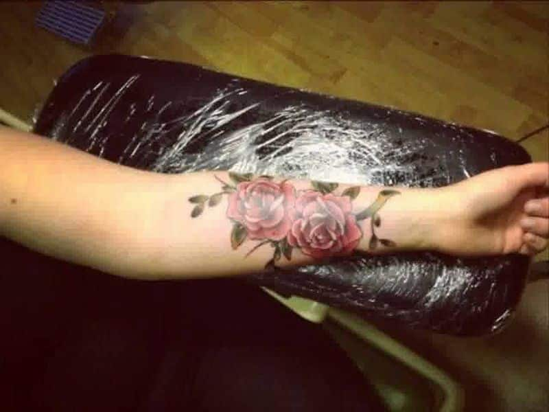 Flower Forearm Tattoos