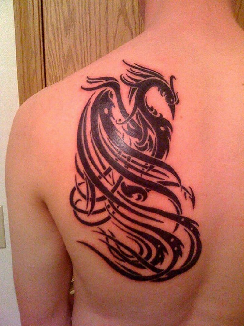 30 Phoenix Tattoo Designs To Enhance Your Personality