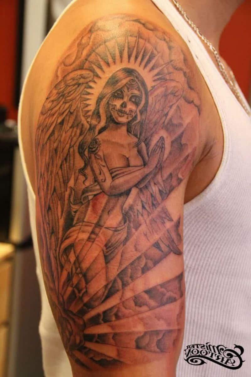 66d08f4d86893 Cloud With Sun Ray Tattoo - Tattoo Bytes