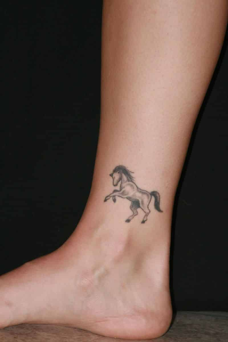 Horse Ankle Tattoos