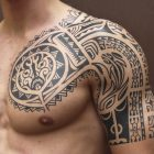 30 Awesome Tribal Sleeve Tattoos That Do Not Suck