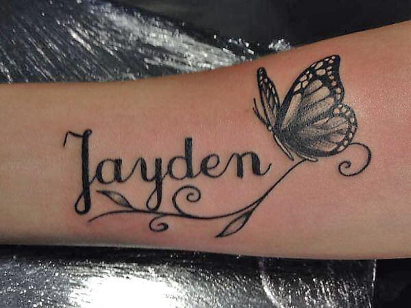 infinity tattoo nice