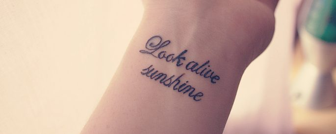 The Meaningful wrist tattoos