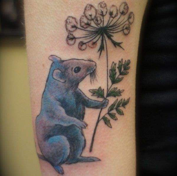 rats get fat tattoos.