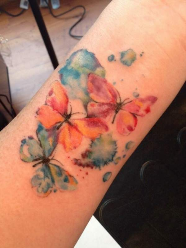 semicolon flower tattoo best
