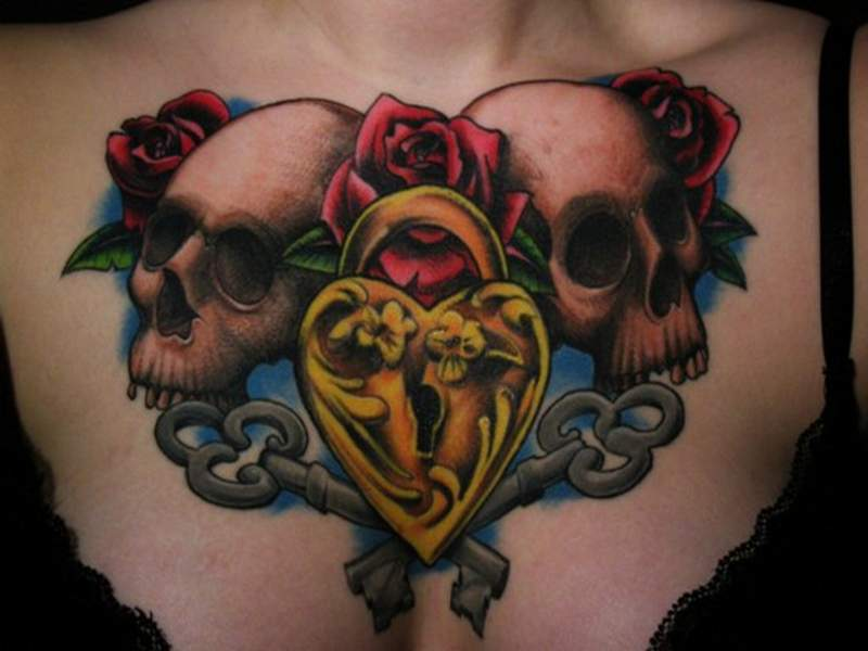 The Best Skull Tattoos Designs and Meaning 2017