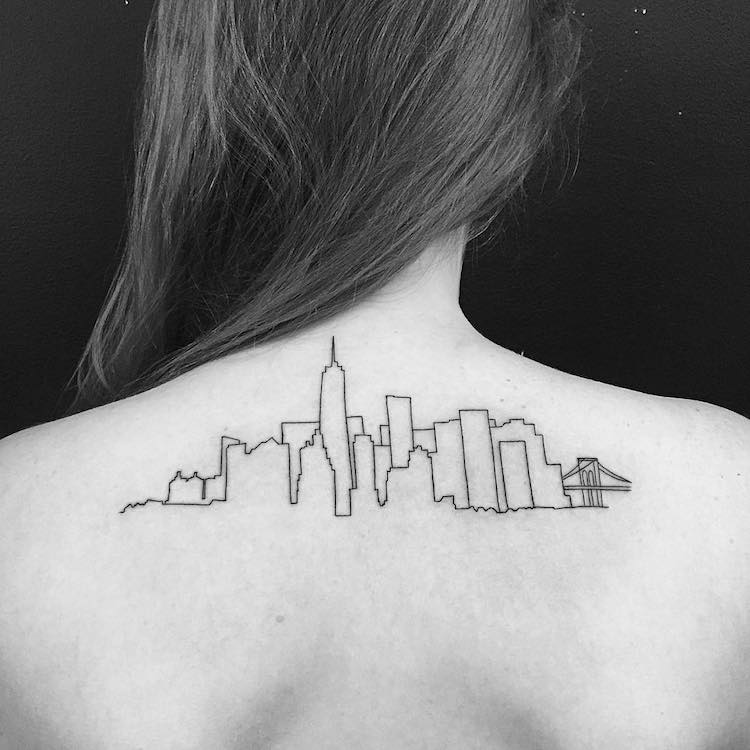 Tattoos Inspired by the Majestic Beauty of Architecture