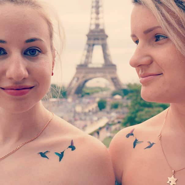 Best Friend Tattoos Idea