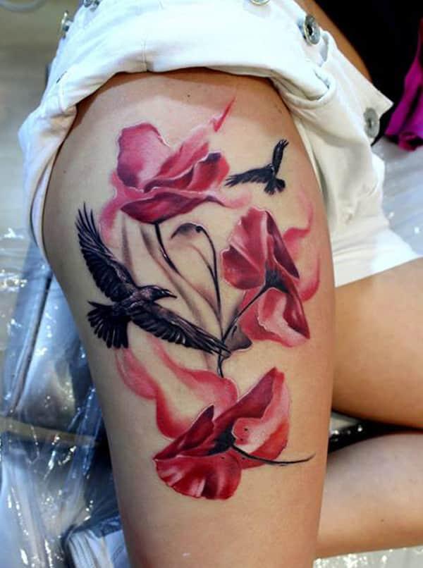 Thigh-tattoo-for-women