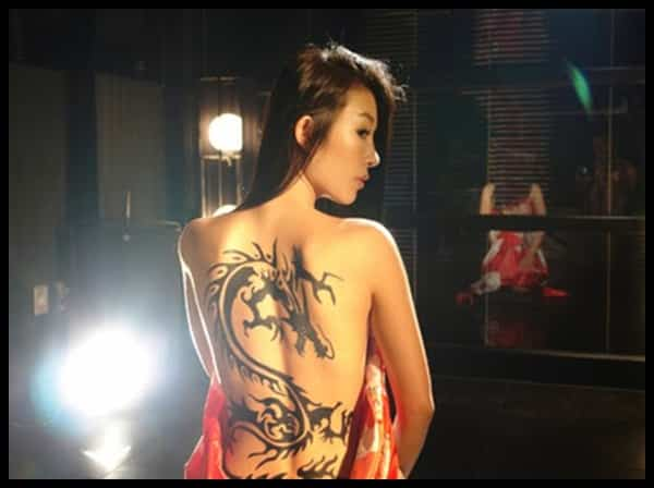 tribal tattoo dragon tattoo