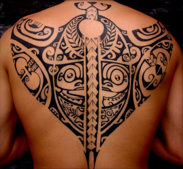 samoan-tribal-tattoo design for men