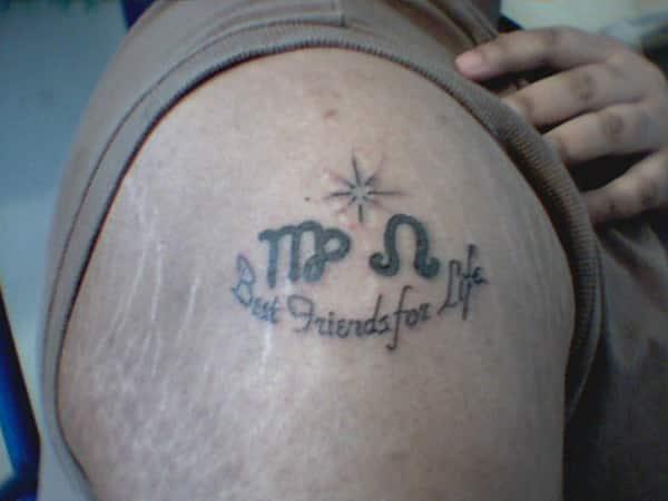 arm leo tattoos