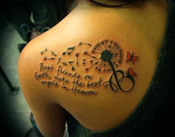 tattoo dandelion